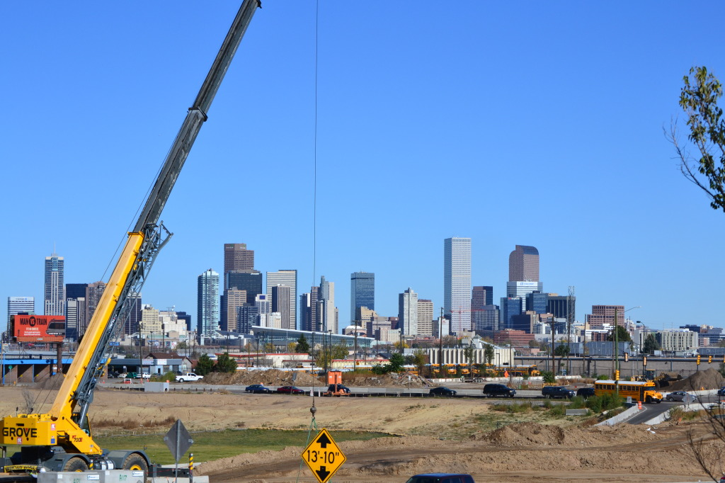 Construction in Denver